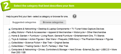 Popular Options Section 2: Category