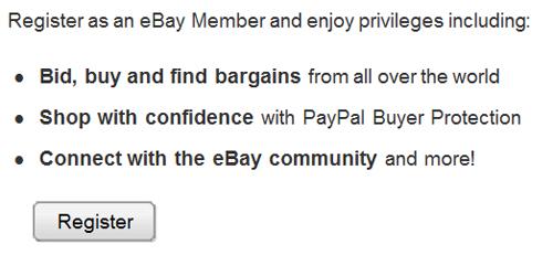 New To eBay